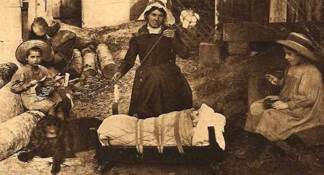 femme Auvergnate