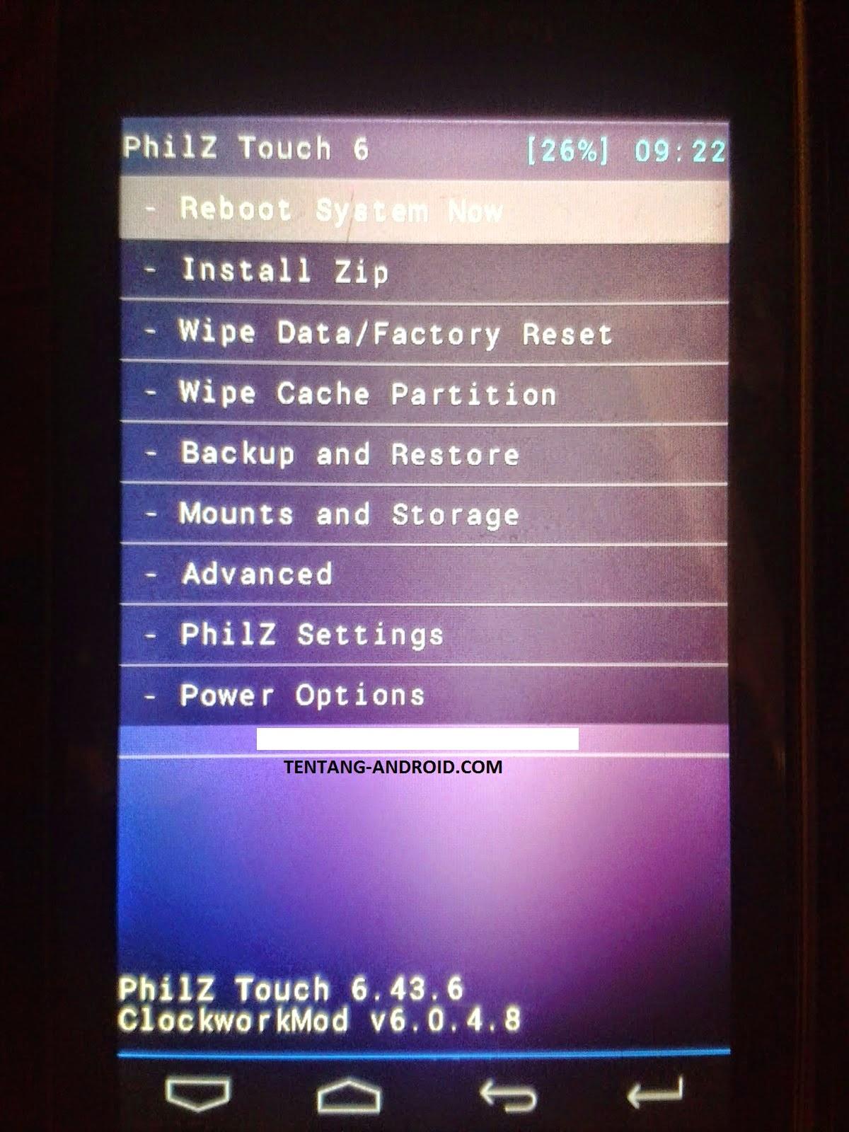 Cara Root Dan Install CMW Andromax C2