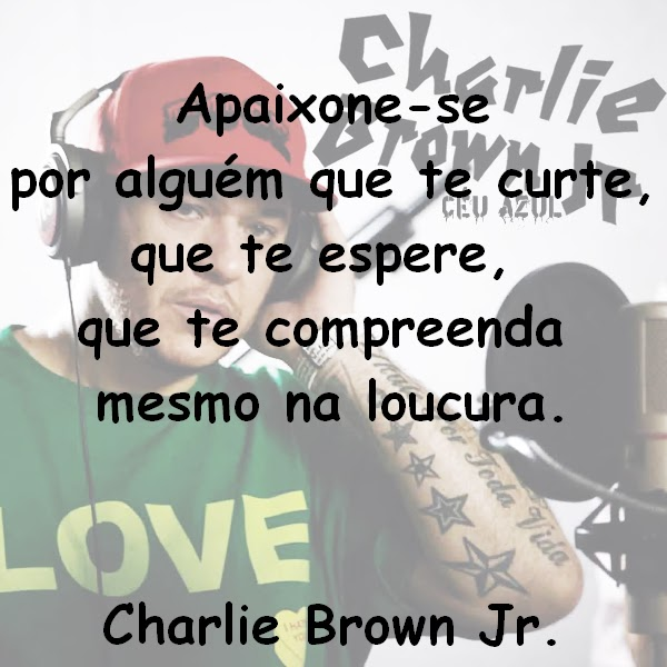 Beijos Pink E Poesias Frases De Charlie Brown Jr