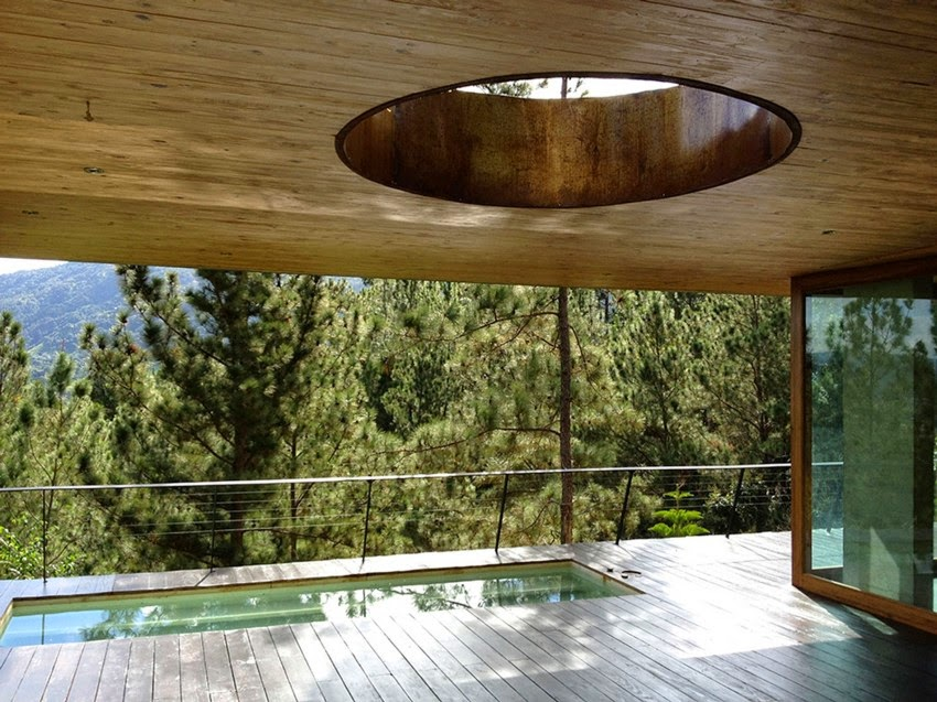natural-jacuzzi-design-idea-wood-ceiling-and-floor