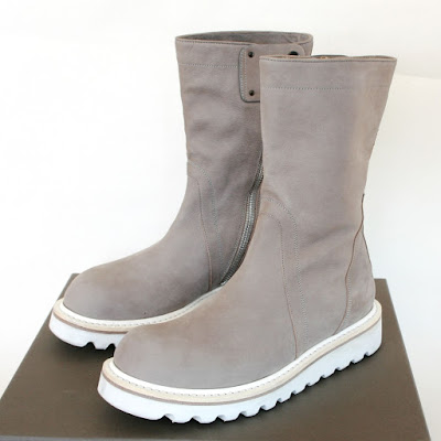 rick owens creeper boots ice gray