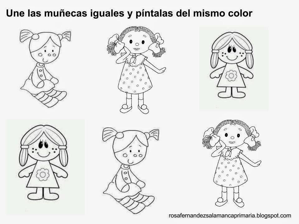 Fichas para trabajar la atención y la discriminación visual. Nivel