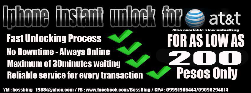 BossBing Online Unlocking Services