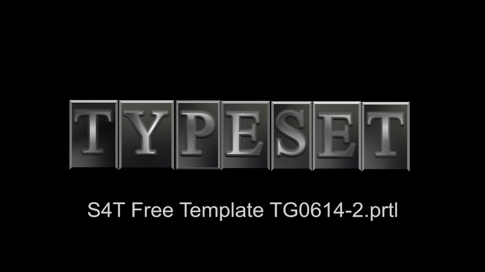 Style4type free s4t premiere pro title template movable type for Premiere pro templates free
