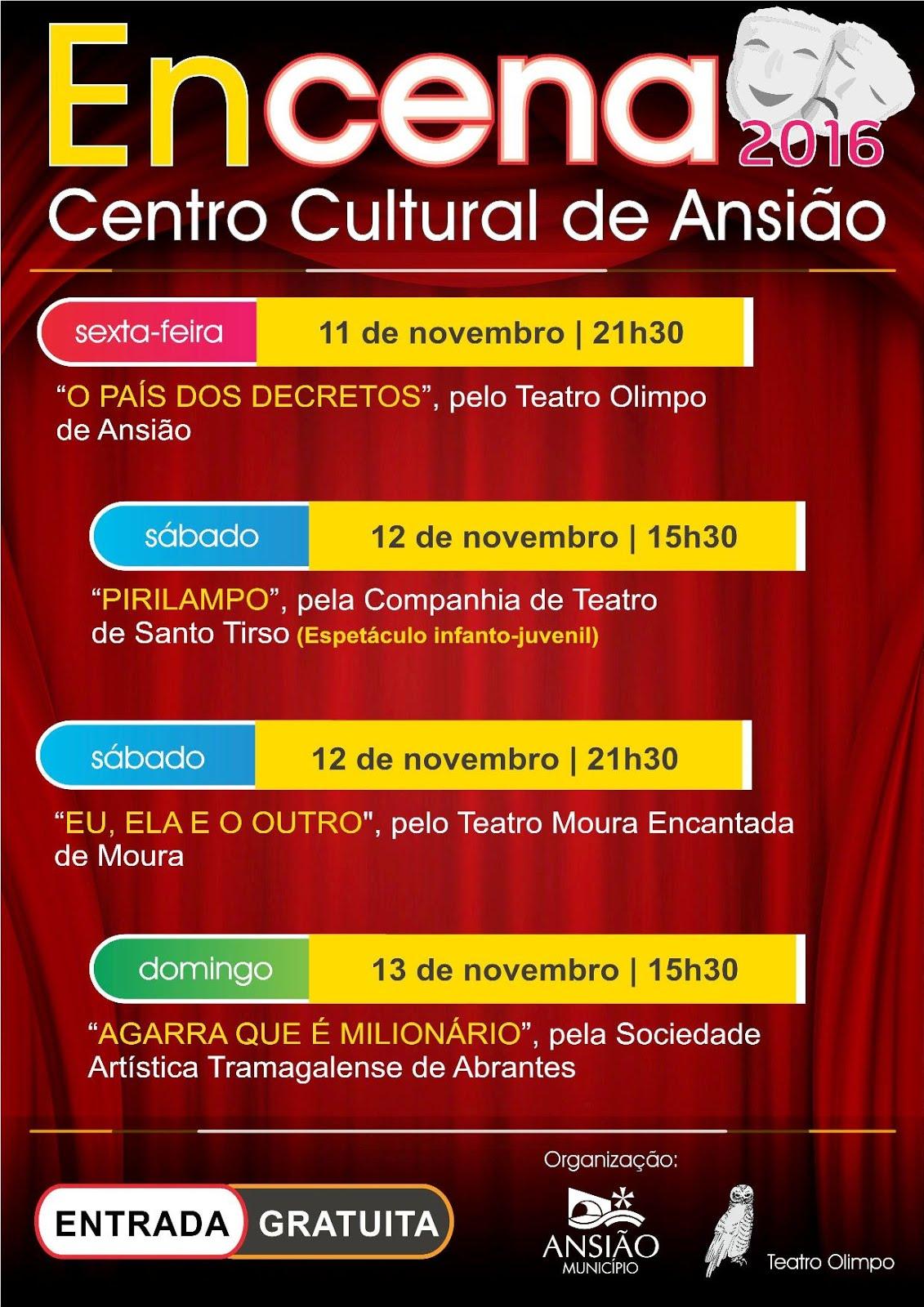ENCENA- Encontros de Teatro de Ansião