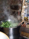 Cooking sorrel soup