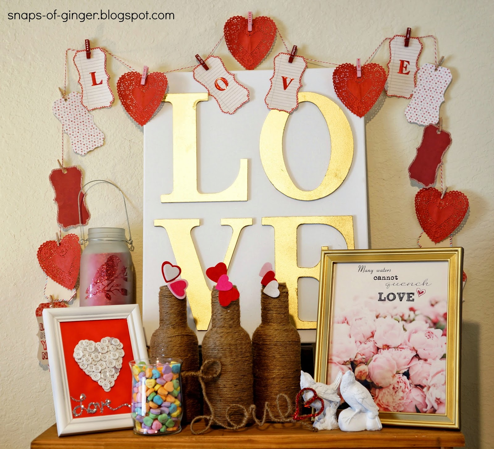 Valentine's Day Display