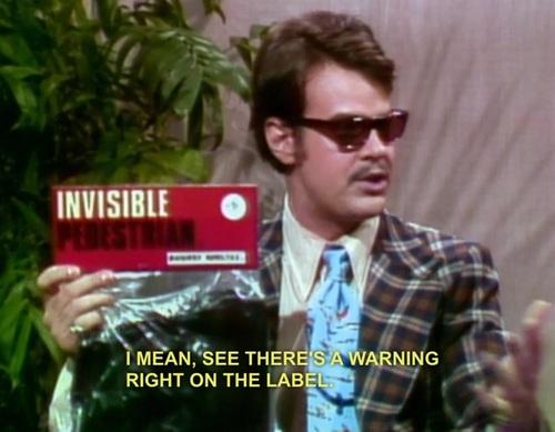 invisible oddness essay