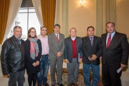Governador Tarso Genro, Embaixador da Palestina e FEPAL