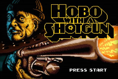 Hobo with a Shotgun, game, screen