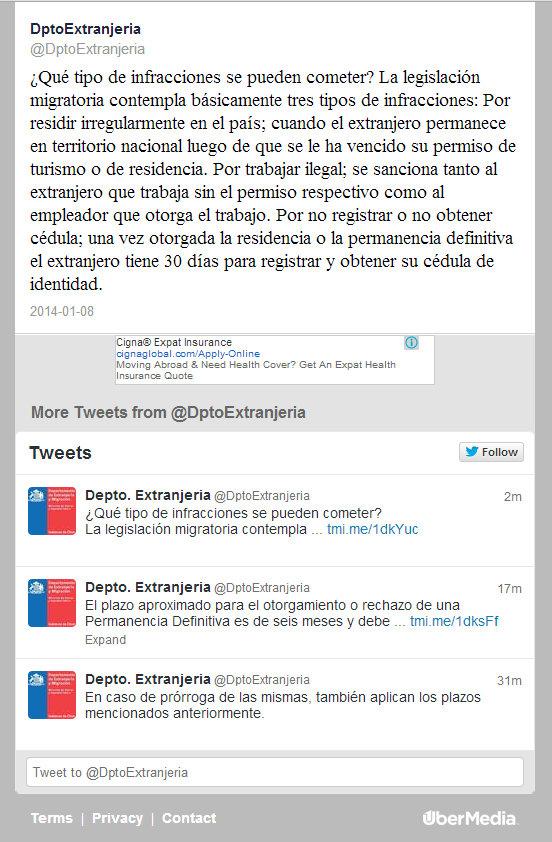 sanciones o multas por trabajar ilegal en chile