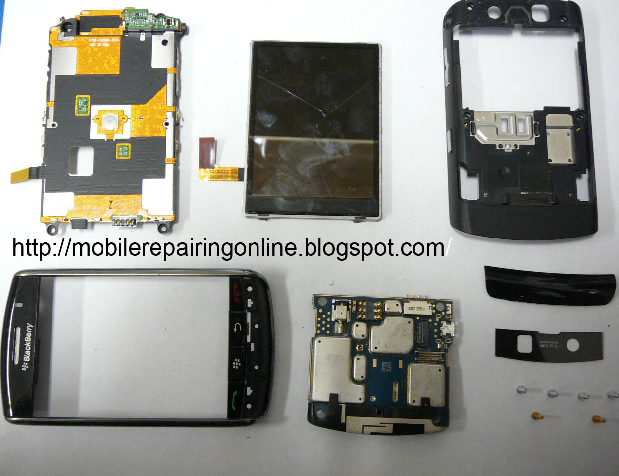 Blackberry Repair solution