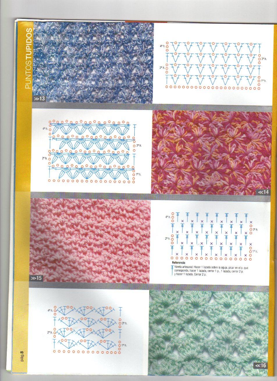 Patrones asgaya puntos tupidos a crochet - Puntos para calcetar ...