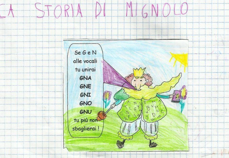 La Maestra Lorelore Gnomo Mignolo Gnome Mignolo