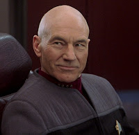Captain Jean Luc Picard of the USS Enterprise, Star Trek