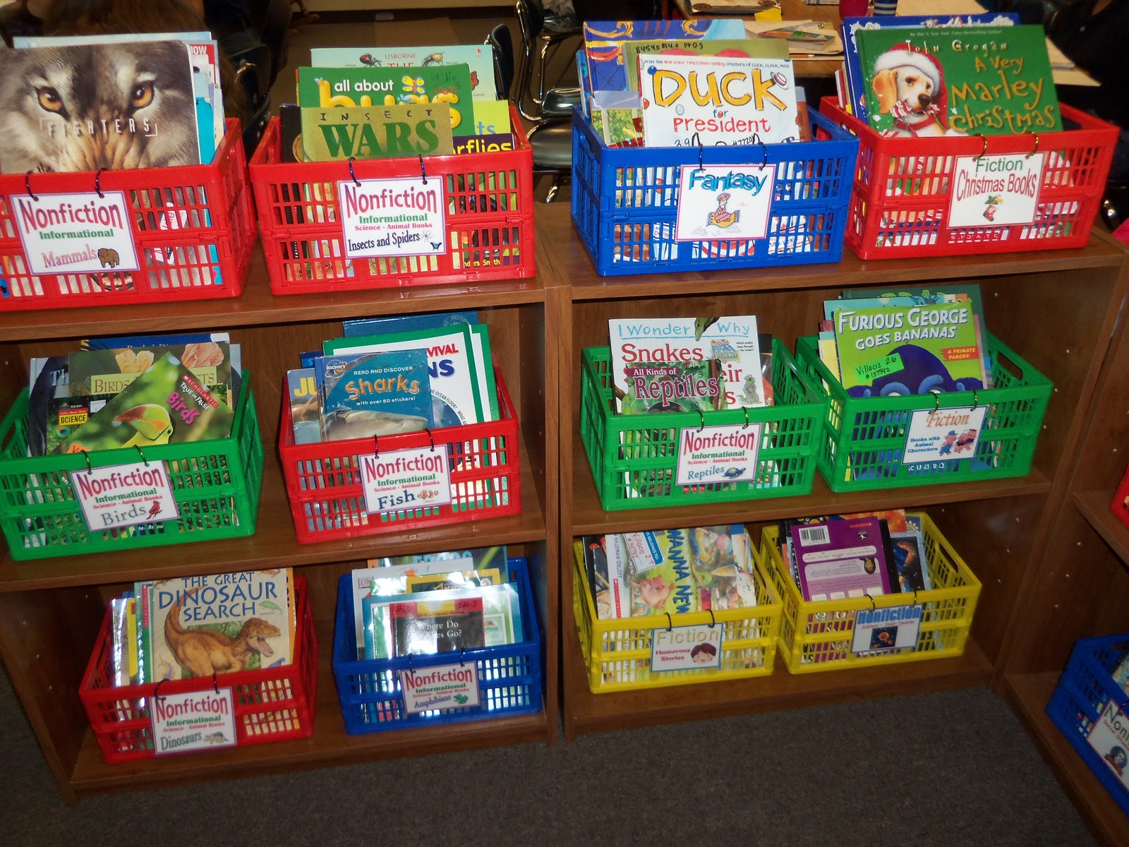 Classroom Book Ideas ~ A class act the love of my life… classroom library