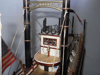 cabina de gobierno de barco