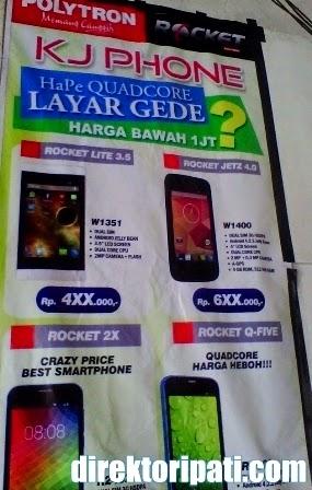 Daftar Harga HP Polytron di KJ Phone Pati