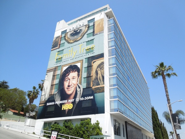 Giant Family Tree series premiere billboard