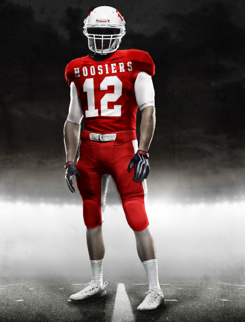 Indiana University Football Uniforms