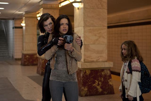 Michelle Rodriguez makes a comeback as Rain Ocampo in Resident Evil Retribution