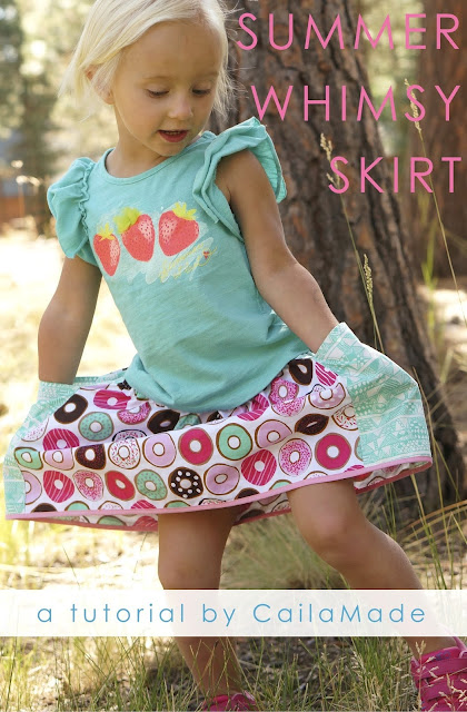 Summer Whimsy Skirt Sewing Tutorial