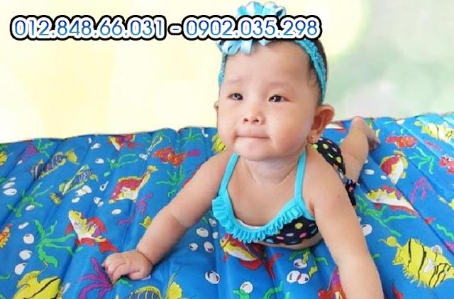 Nệm nước em bé giá rẻ nhất giao hàng miễn phí