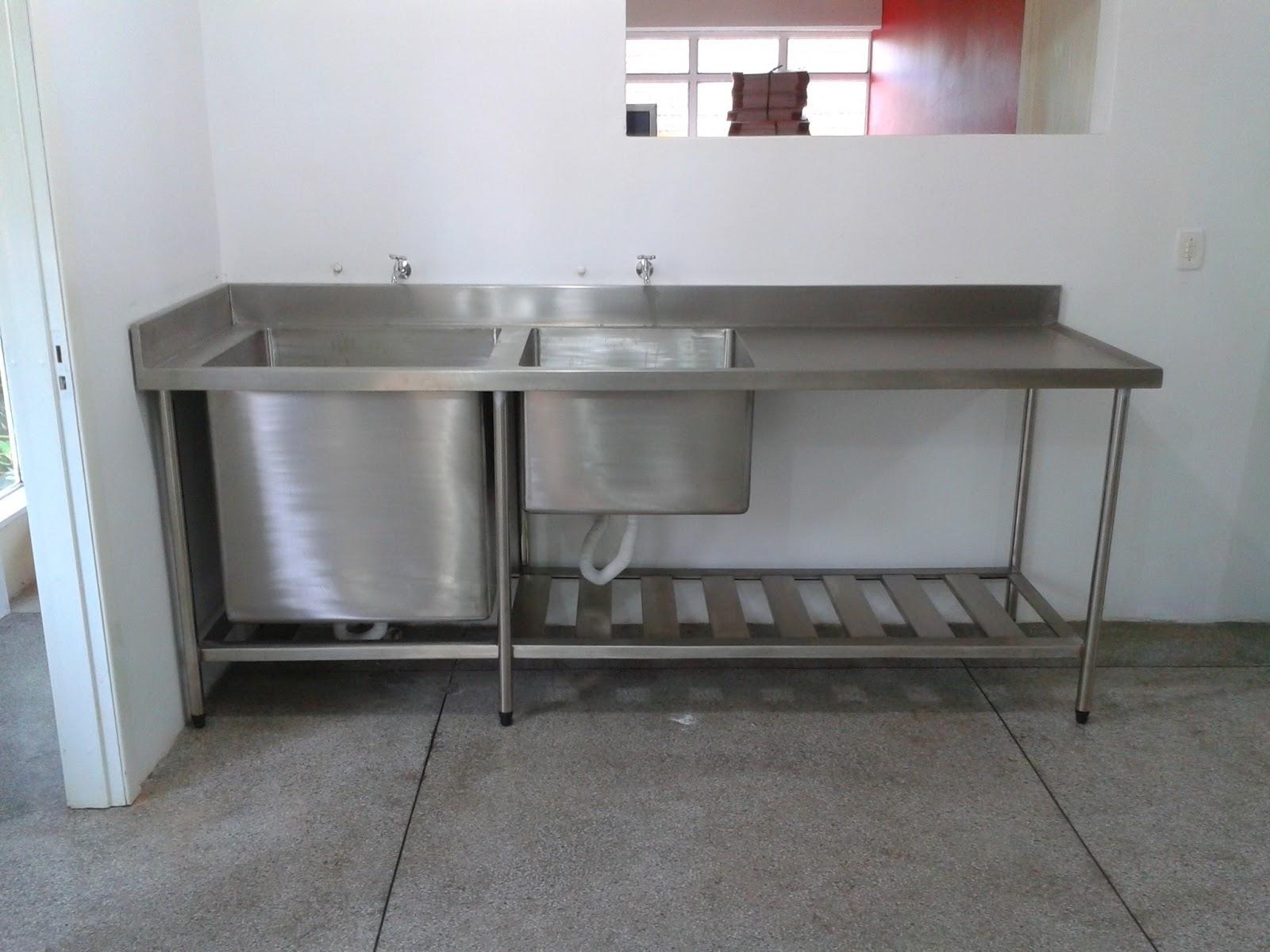 Wibamp Com Pia Cuba Inox Cozinha Industrial Id Ias Do Projeto Da