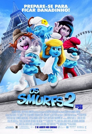 Os Smurfs 2 BluRay Filmes Torrent Download capa