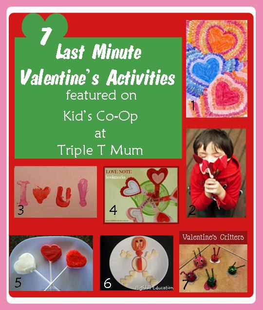 7 Last Minute Valentine's Activities
