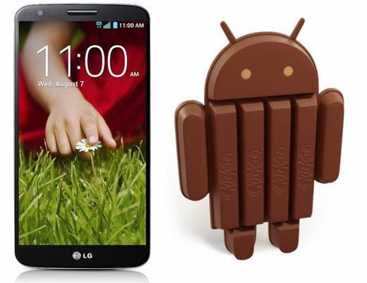 Actualización de Android 4.4.2 KitKat llega al LG G2, LG G Pad 8.3 y LG L9 II