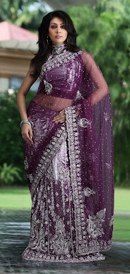 Latest Designer Lehenga Style Saree