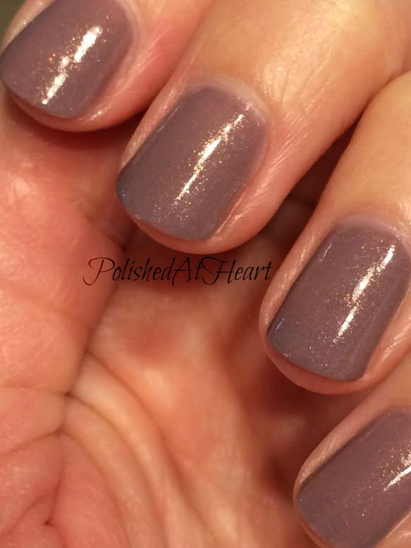 copper shimmer polish
