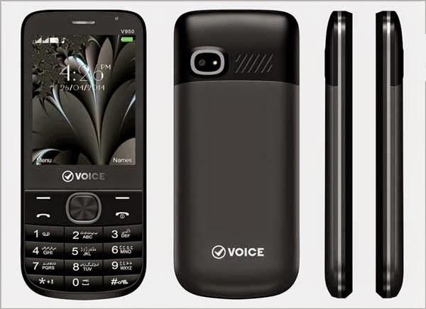 Voice Mobile Launches Voice V950