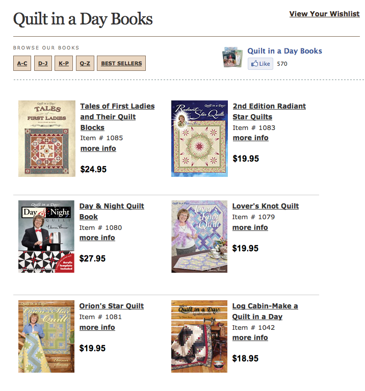 New Sponsor Giveaway Quilt In A Day With Eleanor Burns The