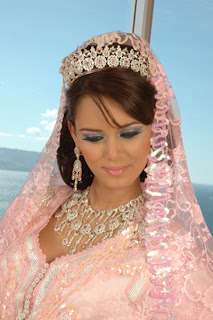 coiffure pour mariage marocain