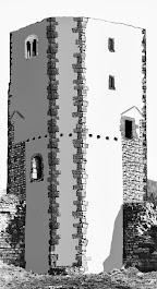 Rekonstruktion des Bergfrieds