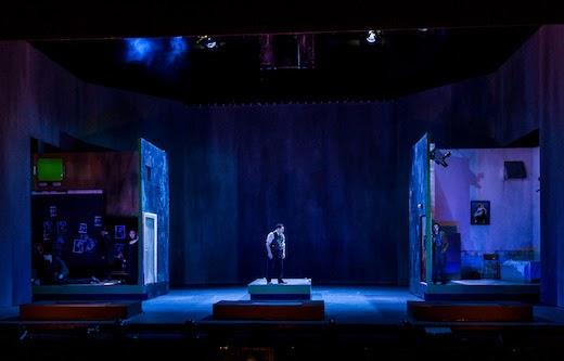 Rebecca Evans, John Mark Ainsley, Iestyn Davies: Handel Rodelinda: ENO: Photo Clive Barda