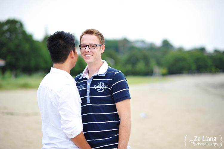 same-sex engagement session castle island boston ben&justin 08