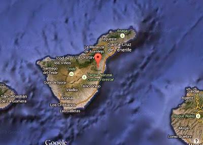 Un nuevo terremoto en Arafo, Tenerife