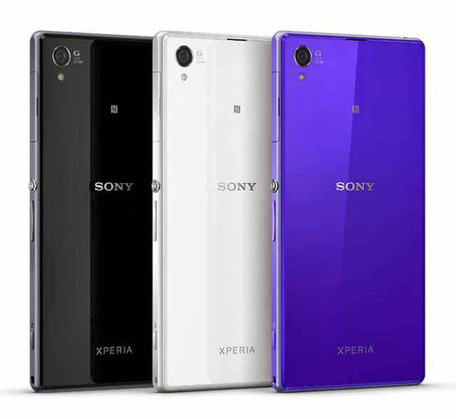 Sony Xperia Z1 Different Colors