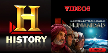 LA HUMANIDAD: VIDEOS DE HISTORY CHANNEL