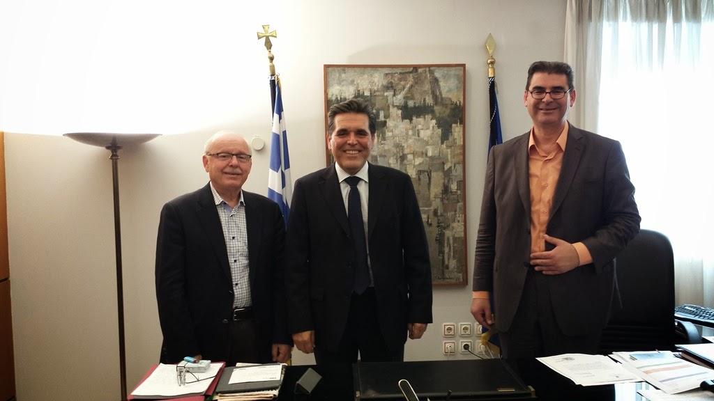 Συνάντηση ΥΦΥΠΑΙΘ Αλέξανδρου Δερμεντζόπουλου με τον Δήμαρχο Διδυμοτείχου