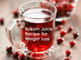 Kokum Juice Recipe for Weight Loss