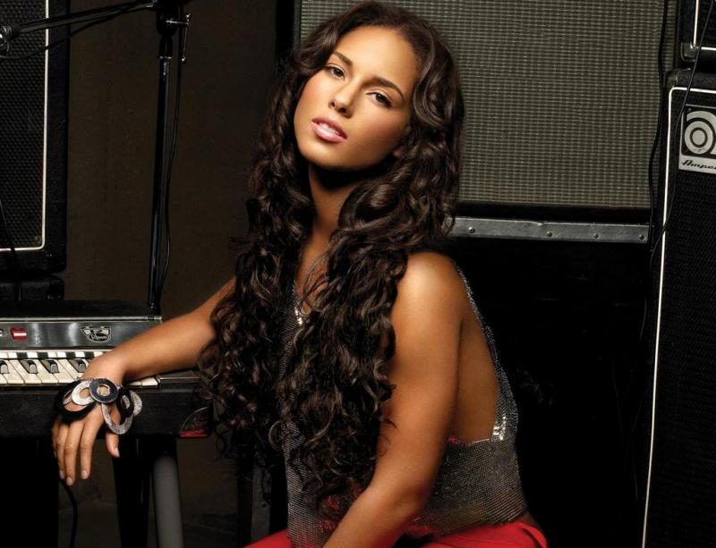 Alicia Keys Songs In A Minor Photoshoot