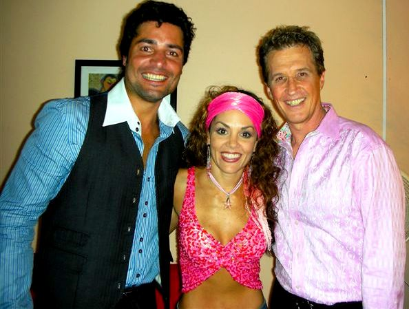Emmanuel con Tatiana y Chayanne