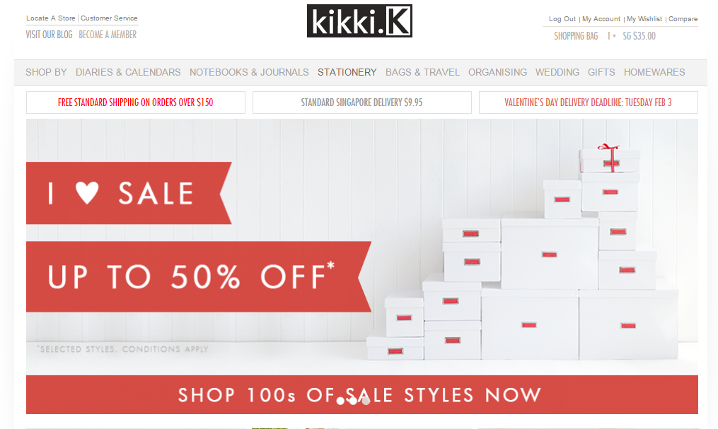 Cara Purchase Kikki K