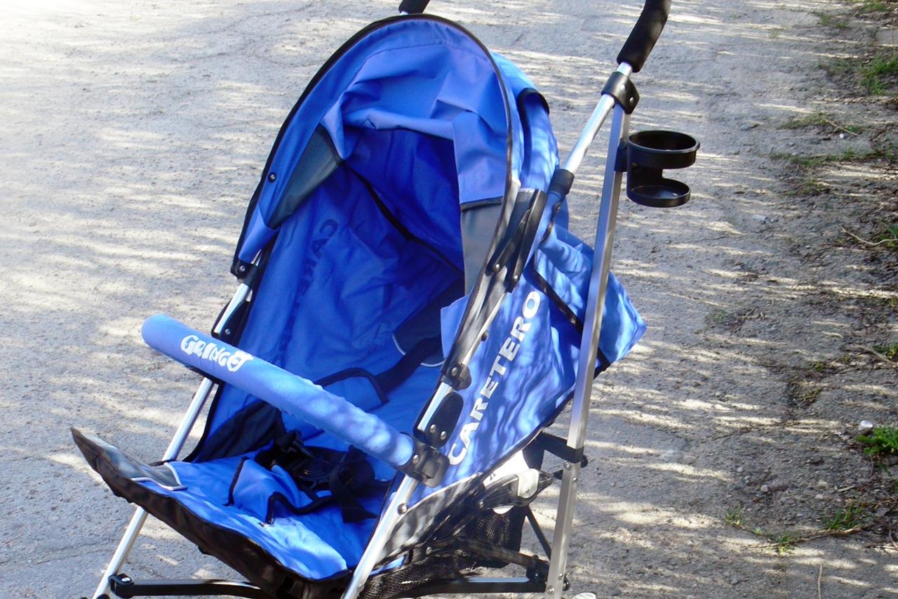 wózek Caretero Gringo pasy