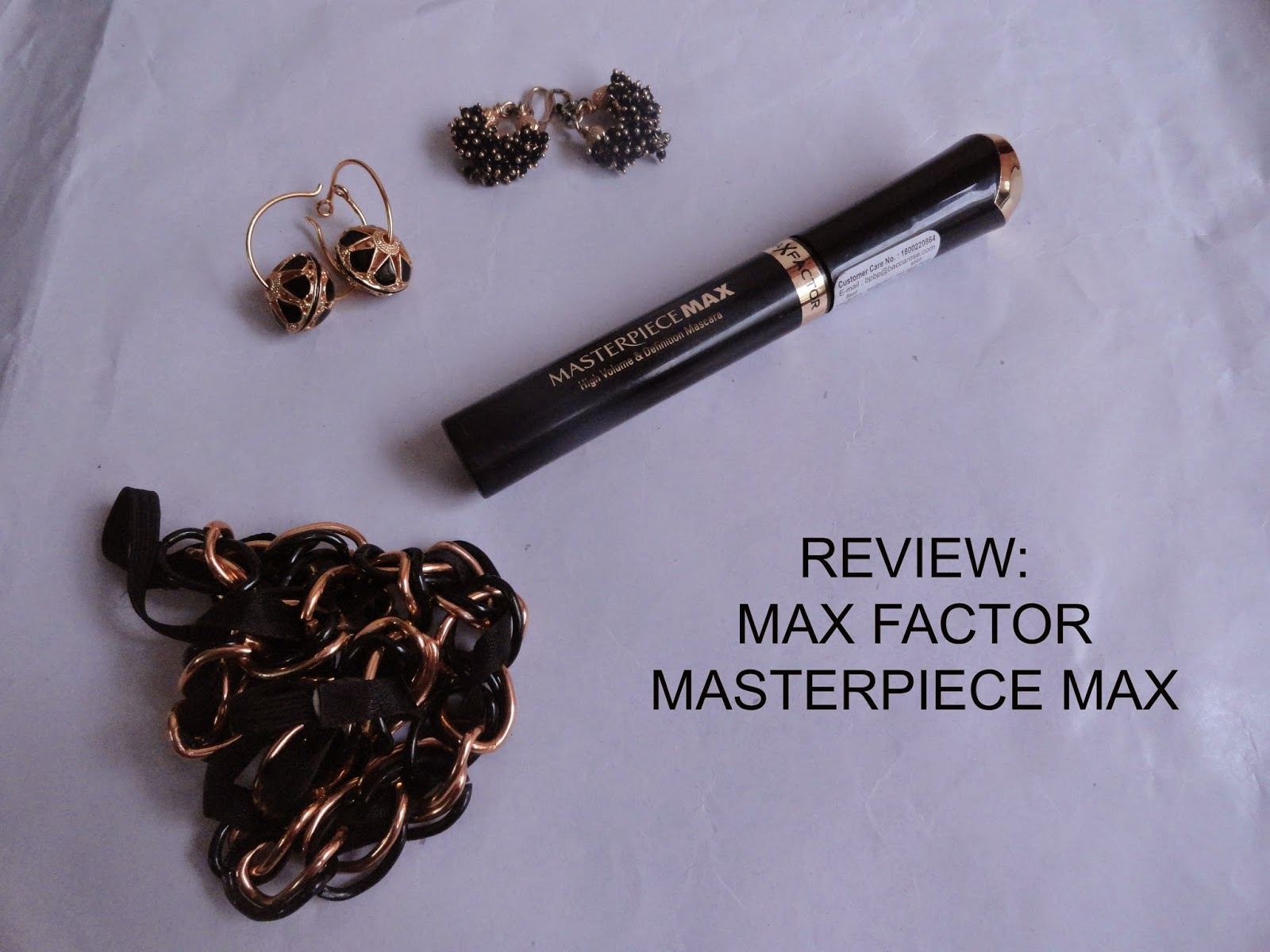 REVIEW: Max Factor MasterpieceMax mascara. image