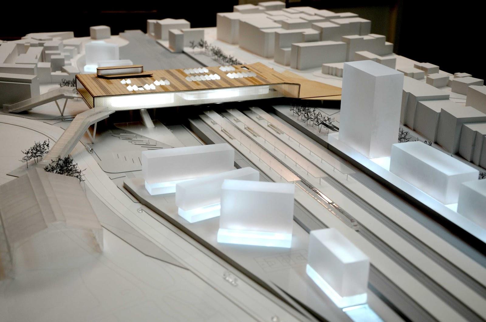 Habitar estaci n intermodal en santiago de compostela - Arquitectos en santiago de compostela ...